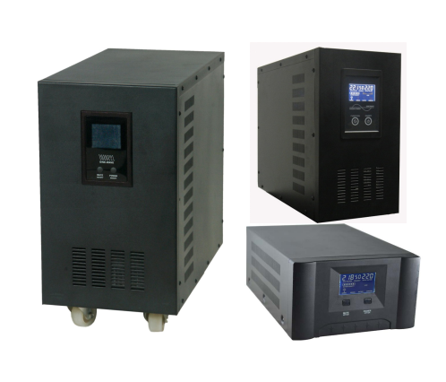Selection of inverters for solar off-grid systems