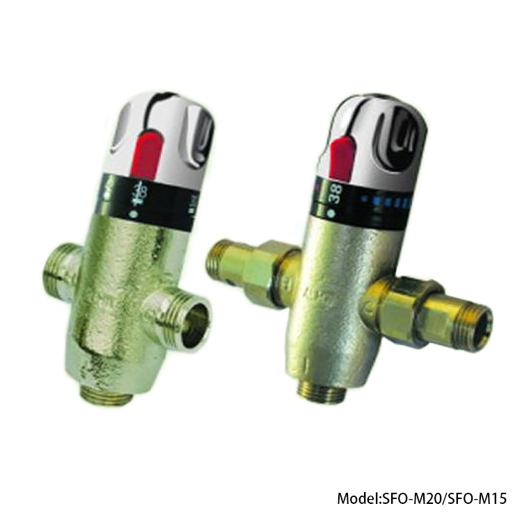 New intelligent temperature control valve in pressurized solar water heaters – mthermostatic valve