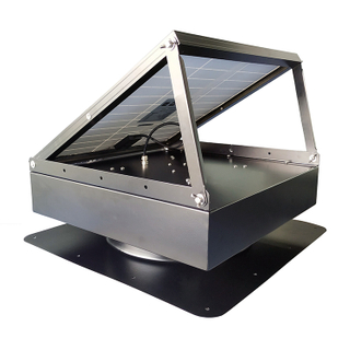 70W Adjustable Solar Attic Vent Fan for Factory/Public Place/Storeroom