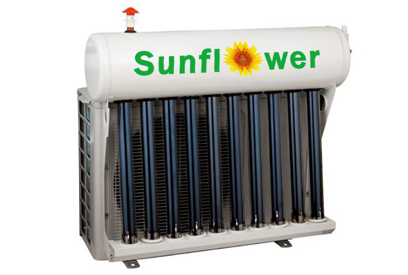 Features of hybrid solar air conditioner